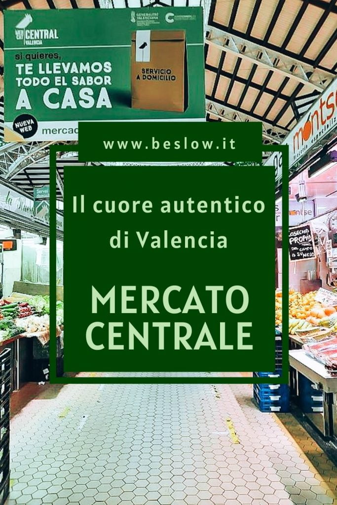 Il mercato centrale di Valencia